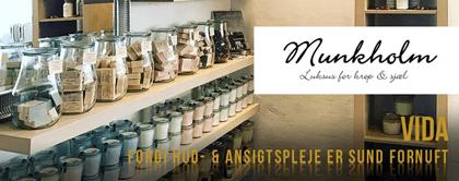 Munkholm - håndlavede sæbe, bade- og bodyprodukter